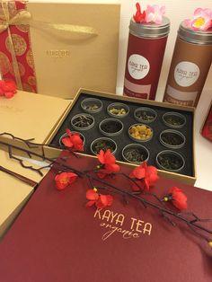 KAYA TEA ORGANIC CHINESE NEW YEAR PACKAGING DESIGN
