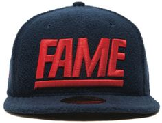 Block Polar Fleece 59Fifty Fitted Baseball Caps By HALL OF FAME x NEW ERA