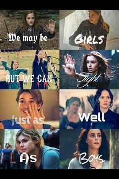 Hermione Granger (Harry Potter) Tris Prior (Divergent) Suzanne & Lucy (Narnia) Cassandra Clare (Shadowhunters) Hazel Grace (Fall out stars) Katniss Everdeen (Hunger Games) Annabeth Chase (Percy Jackson) Teresa (Maze Runner) {Noa} Annabeth Chase, Book Memes, Book Quotes, Percy Jackson, Fangirl, Citations Film, Girls Rules, The Fault In Our Stars, Film Serie