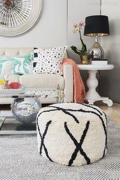 Spring/Summer Living Room Decor - Cuckoo4Design