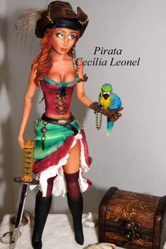 amazing! Wow - now that is some pirate!