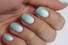 mint green nail polish | Tumblr