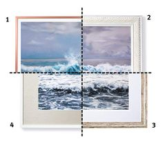 Great Options for a Soft Nature Scene | There's more than one way to maximize a piece of art. (In fact, there are at least four.) Corporate framing director Jeffrey Feigenheimer, of New York City's A. I. Friedman, suggests a few beautiful borders to help you get the hang of it.