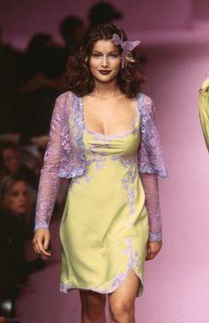 Laetitia Casta - Lolita Lempicka Ready-To-Wear Spring/Summer 1997.
