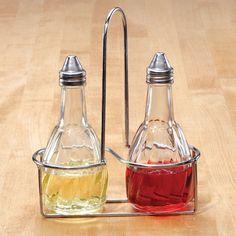 Oil & Vinegar Set with Rack