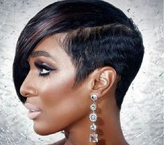 Top 20 Short Hairstyles For Black Women - Hairstyles for chubby faces