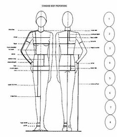 PATTERN DRAFTING BY HEIGHT  free sewing pattern tutorial - pattern drafting website full of information