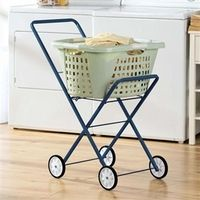 Purchase a laundry trolley to avoid any heavy lifting on wash day! Our top of the line trolley for laundry weights just 8 lbs and folds for easy storage. Occupational Therapy Assistant, Activities Of Daily Living, Adaptive Equipment, Medical Equipment, Stroke Recovery, Aging In Place, Energy Conservation, Making Life Easier, Assistive Technology