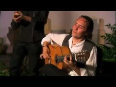Video of someone singing Spainish music