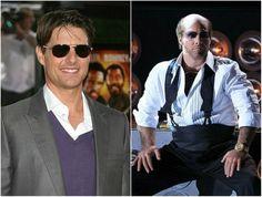 Tom Cruise dans le rôle de Les Grossman - Tonnerre sous les tropiques, 2008