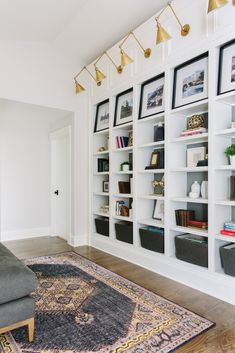 As an #order and #organization junkie these #bookshelves are such a sigh of relief