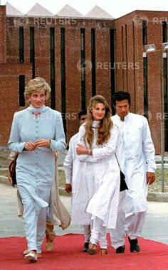 Jemima Goldsmith And Princess Diana