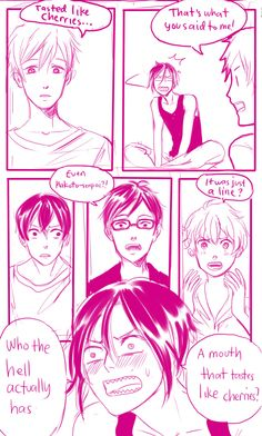 First kiss ...  part 3 ...  Free! - Iwatobi Swim Club, haruka nanase, haru nanase, haru, free!, iwatobi, makoto tachibana, makoto, tachibana, nagisa hazuki, nagisa, hazuki, rei ryugazaki, rei, ryugazaki, rin matsuoka, matsuoka, rin