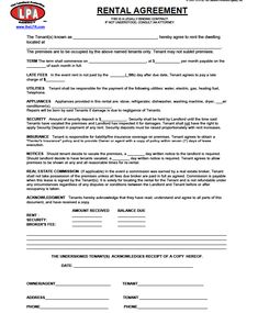 A rental agreement template is a legal document that clearly states that the said property owned by such and such a person is being used by such and such a person, by the mutual consent of both the parties. Mostly, rental agreements are made for property. But sometimes it may also include...
