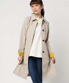 【ZOZOTOWN】Bou Jeloud(ブージュルード)のステンカラーコート「【スプリングコート】ステンカラー配色コート」(761991)をセール価格で購入できます。