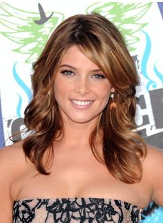 side swept bangs with layers - Google Search