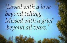 beyond all tears
