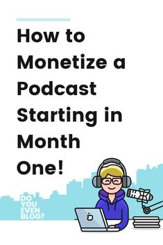 Podcasting can be a great way to get into the entrepreneurship world. You can make money podcasting and turn your content creation venture into a profitable business. This guide will teach you how to monetize a podcast and make money online today! Way To Make Money, Make Money Online, Content Marketing, Affiliate Marketing, Business Tips, Online Business, Podcast Topics, Podcast Ideas, Starting A Podcast