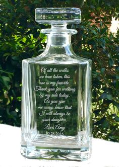 Father Daughter Gift Father of the Bride by APersonalizedWedding