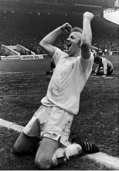April Big game player Billy Bremner once again stepped forward as scored the winner against Wolverhampton Wanderers in the FA Cup Semi Final, at Maine Road. Fa Cup Final, Semi Final, Leeds United Fc, Picture Gifts, Wolverhampton, Big Game, One And Only, Football Players, Yorkshire