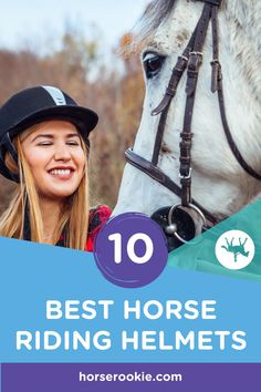 Are you looking for a safe and reasonably priced horseback riding helmet? Here are the top best horseback riding helmets for horseback riders. Horse Riding Helmets, Horse Riding Tips, Horse Gear, Trail Riding, Horse Tack, Horseback Riding, Dressage, Equestrian, Horses