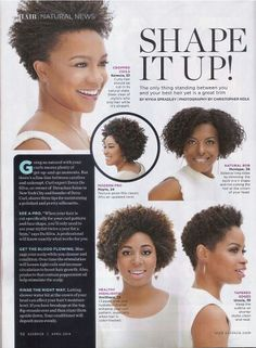 Natural Hair - Shape It Up!