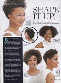 Natural Hair - Shape It Up!
