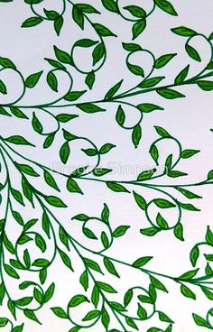 'Hand Drawn Design of Green Vines' iPhone Case by Brooke Simpson Vine Drawing, Leaf Drawing, Floral Drawing, Nature Drawing, Plant Drawing, Wall Drawing, Art Drawings, Plant Painting, Plant Art