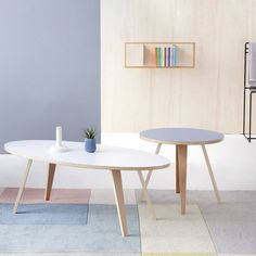 Tables & Chairs in Modern Colours by garageeight