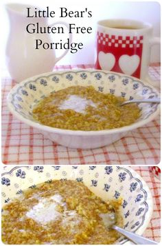 Click on pin to Learn More Healthy Guides  Recipes, Little Bears Gluten Free Porridge - a gluten free hot cereal, without oats, nether dry nor bland, but creamy, flavorful, and just right.http://pinterest.com/pin/242912973630061525/