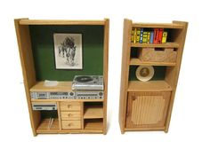 Lundby Lisa of Denmark Dollhouse Stereo by FoxLaneMiniatures, $15.00