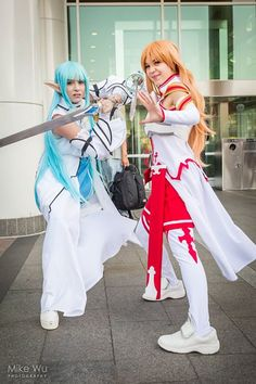 Cosplays by Kristy - mysticwater and ?  Photo by Mike Wu Photography