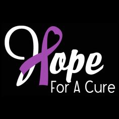 Hope Heart Ribbon Awareness Sticker