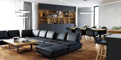 Interiérový dizajn - obývačky a kuchyne 25