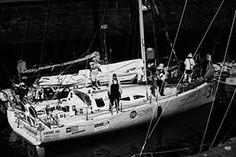 #bnw #thetransat #stmalo #sailing #sailboat #sailbrooklyn #sailor #class40 #eace #ocean @sailchecker @sailmagazine @prosailmagazine #vincentlantin by cecilbphotography