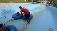 The Yuppie Water Slide at Aldeia das Águas Park Resort