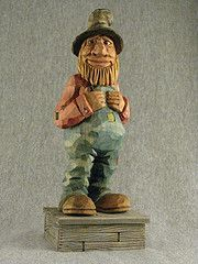 Caricature wood carving proved to be exactly that. Description from fredzavadilwoodcarving.com. I searched for this on bing.com/images