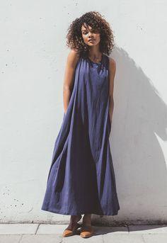 Air långklänning (8) - Gravidklänning / Amningsklänning