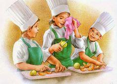 Детки-поварята от Marcel Marlier