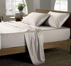 Sheridan Essentials 400thc Soft Sateen Sheet Set Peat