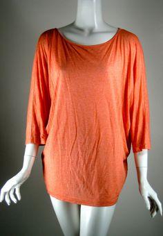 LAFAYETTE 148 NEW YORK Coral Dolman Sleeve Blouse Size Medium #Lafayette148 #Blouse