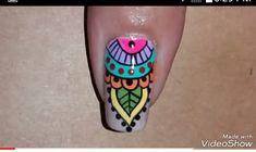 Mani Pedi, Manicure, Coffin Nails, Gel Nails, Mandala Nails, Nail Art Kit, Nail Art Videos, Stylish Nails, Nail Tutorials