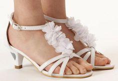 'Rosie' Girls Shoe for 1st Communion or Easter from CatholicSupply.com