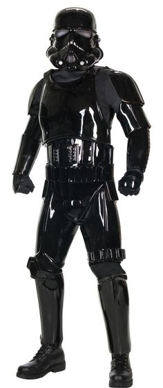 Rubies Costume Co. Mens Star Wars Supreme Edition Black Shadow Trooper Costume -- Star Wars is back and better than ever with tons of great options to choose from for Halloween Costumes. Check out this star wars costume and all of our others!