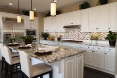 Northampton by Standard Pacific Homes. Kitchen in one of our model ...