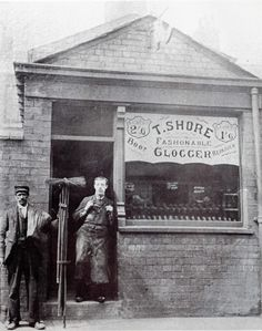 Pen Street off bark street 1900s clogger and chimney sweep