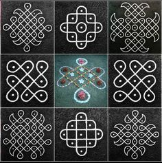 Explore latest easy rangoli design image ideas collection for Diwali. Here are amazing simple rangoli designs to decorate your home this festive season. Indian Rangoli Designs, Rangoli Designs Latest, Simple Rangoli Designs Images, Rangoli Border Designs, Rangoli Patterns, Rangoli Ideas, Rangoli Designs With Dots, Kolam Rangoli, Rangoli With Dots