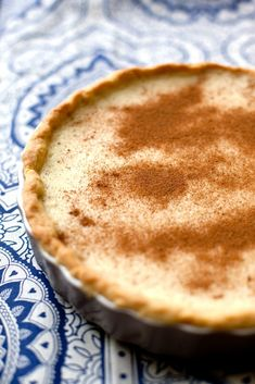 Get your simple, non-scary, step-by-step recipe for making a classic milk tart! How to make milk tart step by step recipe. Tart Recipes, My Recipes, Sweet Recipes, Baking Recipes, Favorite Recipes, Recipies, Recipes With Milk, Custard Recipes, Oven Recipes