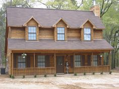 Real talk: everyone wants to live in a log cabin. Now you can! #CustomBuilt #UBH #UBHFamily