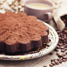 Ragi Coffee Cake with Kahlua Chocolate Ganache Recipe - A decadent coffee cake made with the goodness of ragi flour, and topped with rich chocolate ganache that is spiked with Kahlua for that extra coffee kick. Eggless Chocolate Cake, Chocolate Ganache, Dessert Dishes, Dessert Recipes, Chocolates, Ragi Recipes, Ganache Recipe, Healthy Cake, Baking Tins
